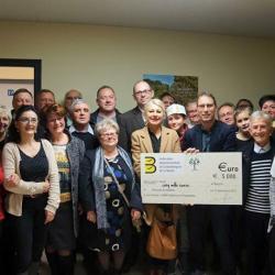Remise de Chèque de La Fédération Départementale des Boulangers de la Marne
